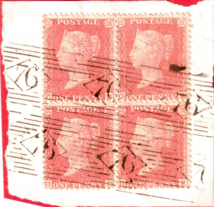 GB VICTORIAN POSTMARKS POST 1840